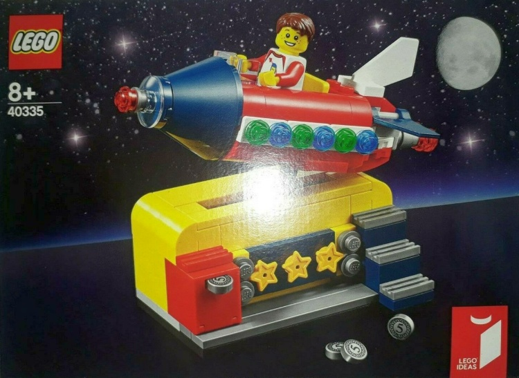 "LEGO Ideas Contest Winner Gift-w/-Purchase Set ""Space Rocket Ride"" (40335) Found in Croatia"