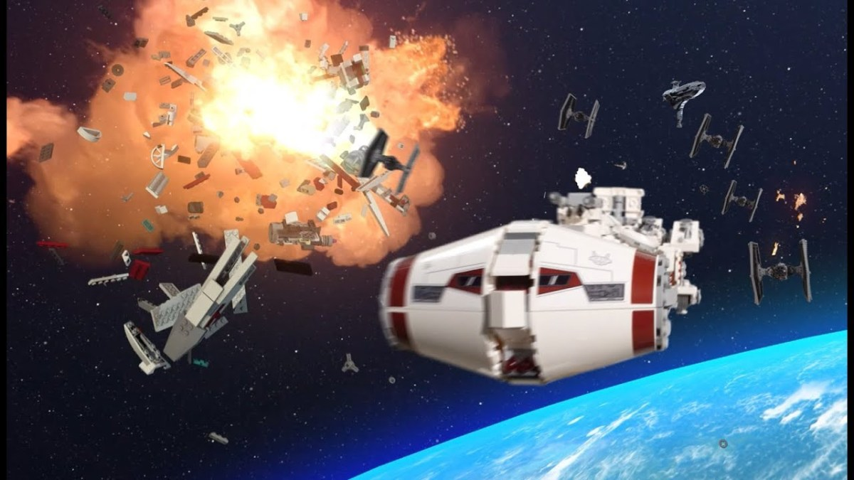 "LEGO Promotes Star Wars Tantive IV Set (75244) with Stop Motion Video Evoking ""Rogue One"" for Kids"