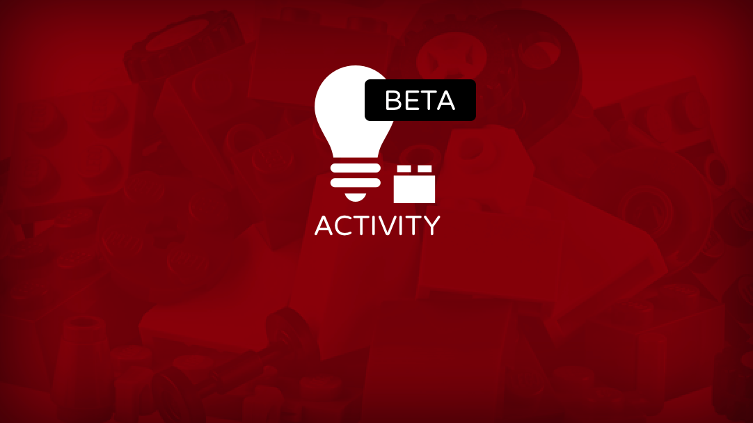 "New ""Activities"" Section on Beta Test for LEGO Ideas"