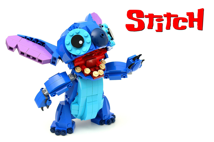 LEGO Ideas Stitch