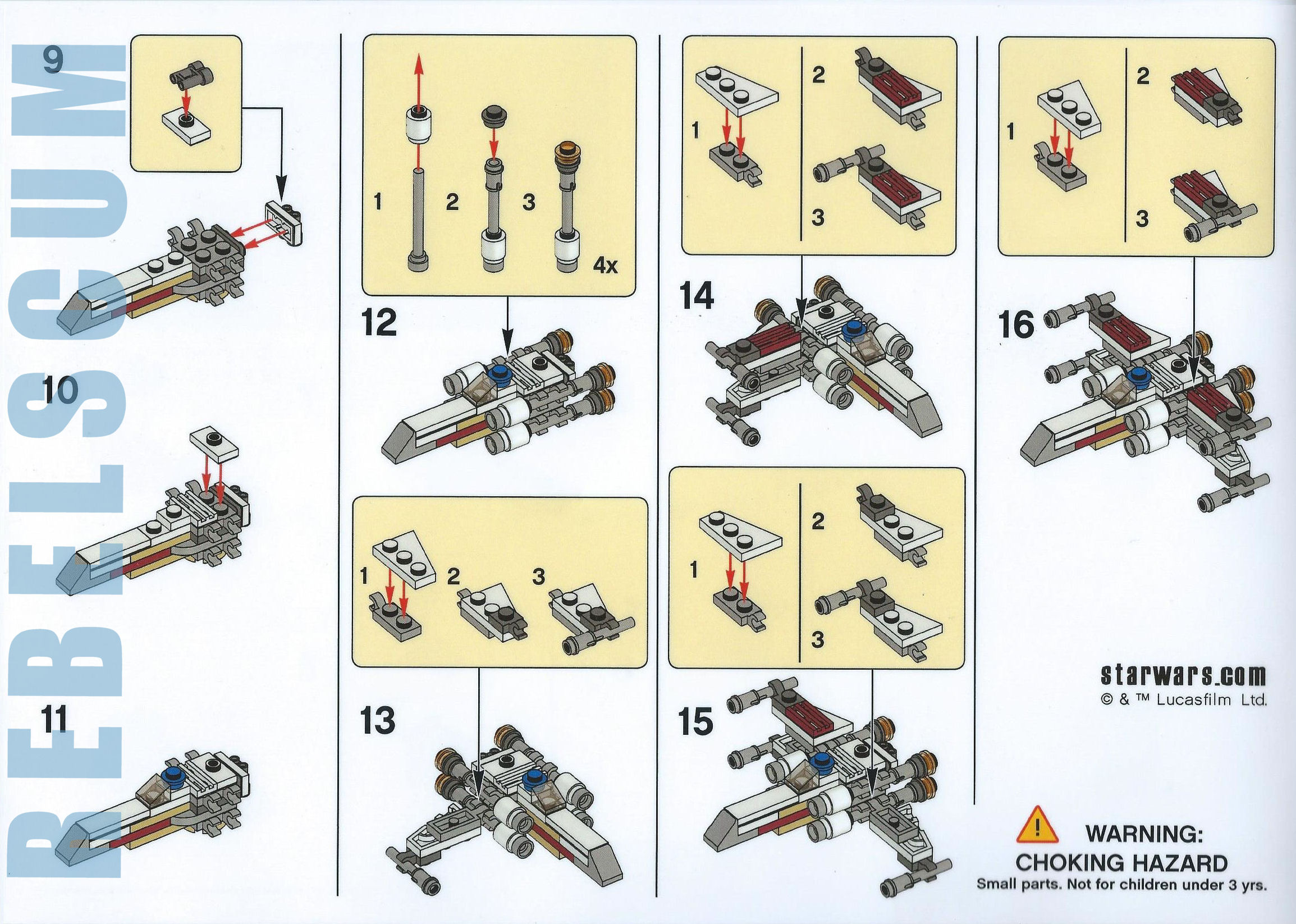 Building Instructions for LEGO Star Wars May the 4th Make