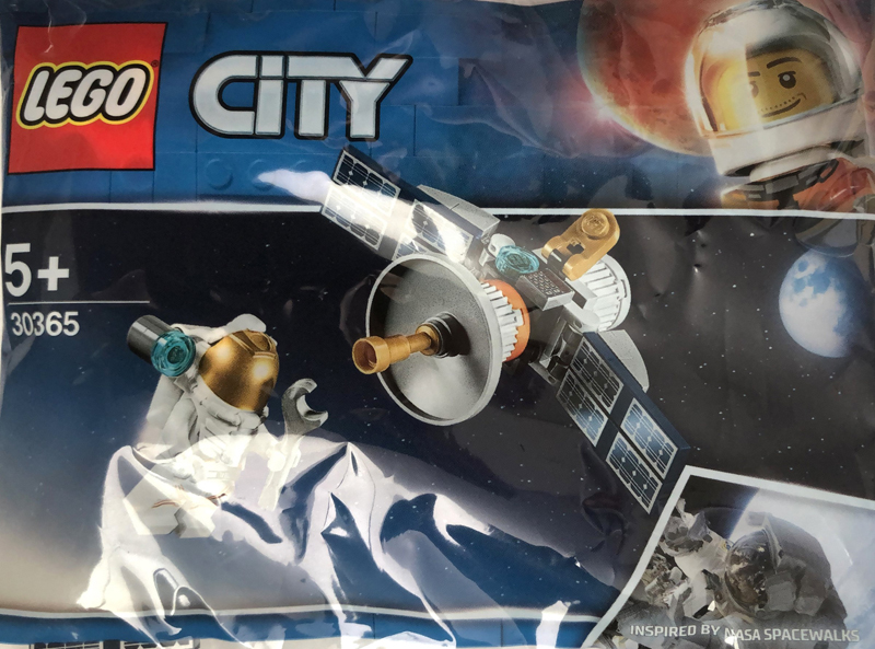 LEGO City Space Satellite (30365) Polybag Spotted