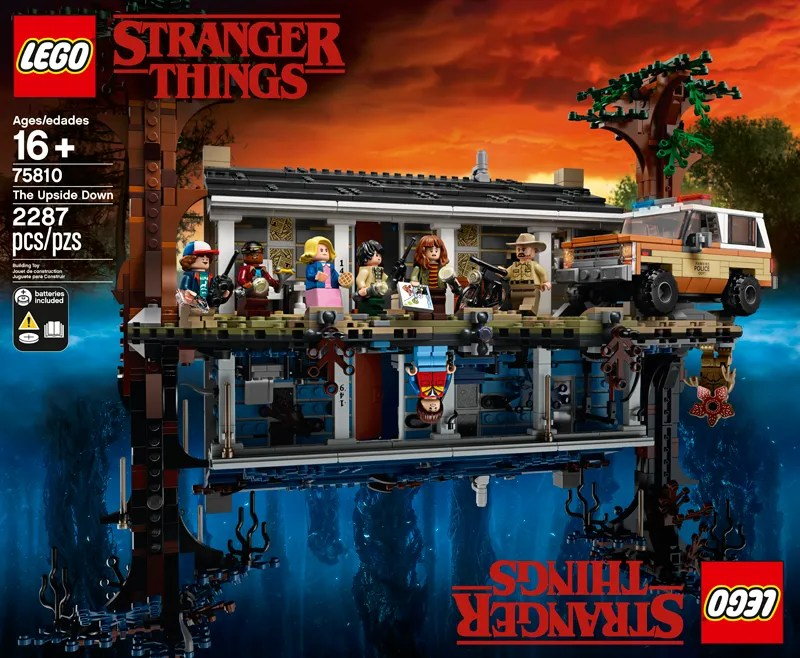 LEGO Stranger Things The Upside Down (75810) Set Officially Revealed
