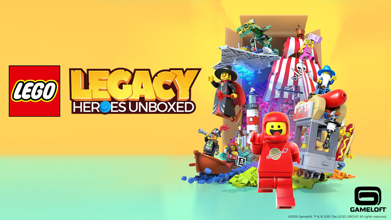 LEGO Legacy: Heroes Unboxed Mobile Game Coming This Fall