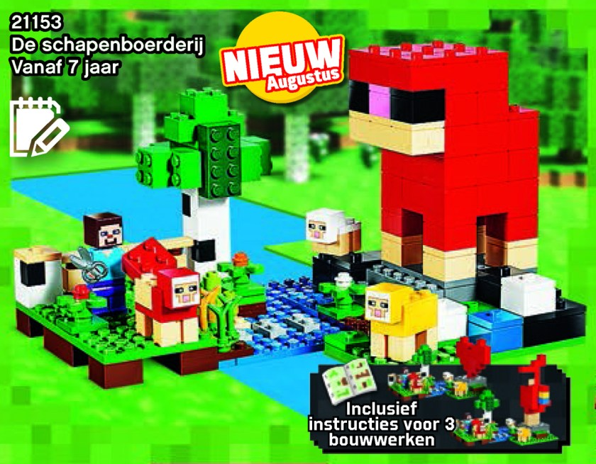 2019 LEGO Minecraft Sets