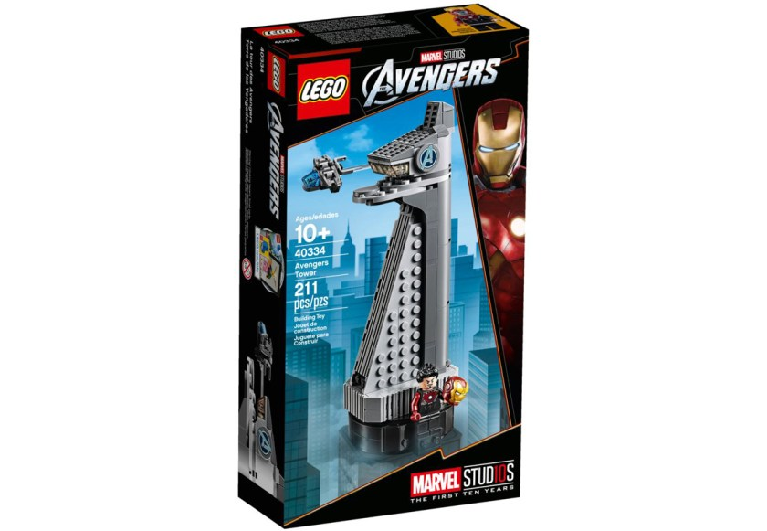 LEGO Marvel Avengers Tower (40334)