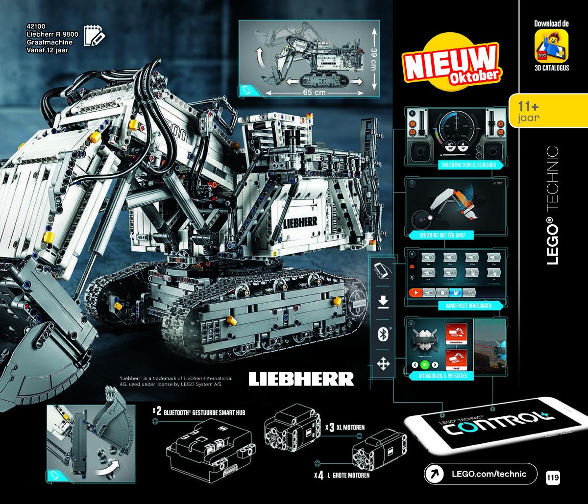 New 2019 LEGO Technic Sets Revealed