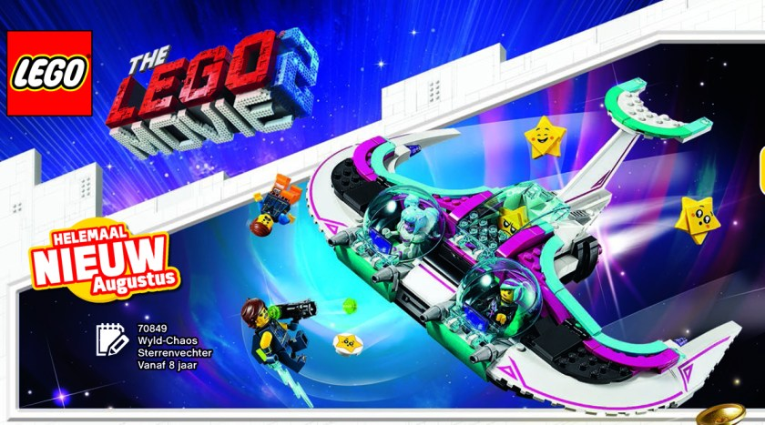Summer 2019 LEGO Movie 2 Sets