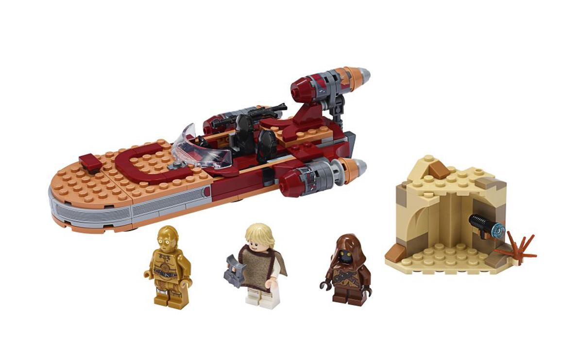 NEW LEGO STAR WARS TUSKEN RAIDER MINIFIGURE /& WEAPON TATOOINE CANTINA