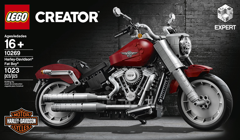 The LEGO Creator Expert Harley-Davidson Fat Boy (10269) Revealed