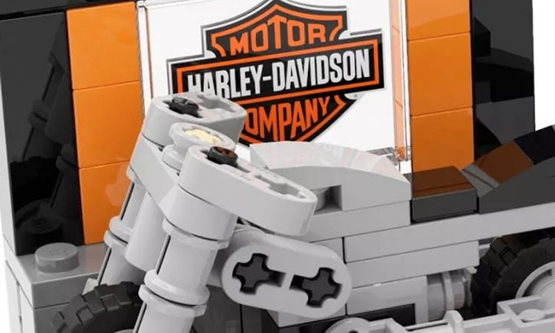 This LEGO Harley Davidson Mini-Build Make and Take Event is Happening in China