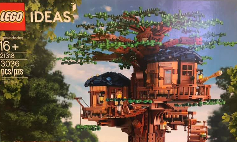 LEGO Ideas Tree House (21318) Spotted at LEGOLAND Discovery Center in Texas