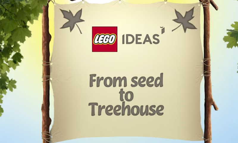 LEGO Ideas Treehouse (21318) Teaser Trailer Released