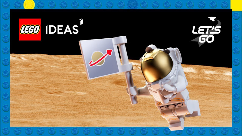 LEGO Ideas From The Moon to Mars