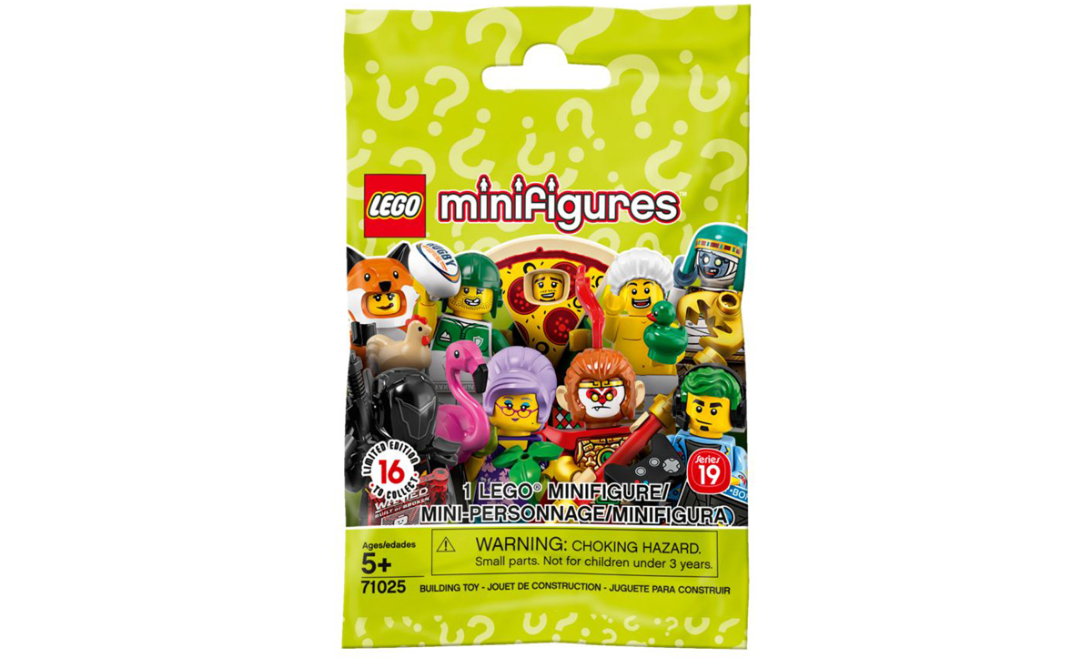 LEGO 71025 Series 19 minifigures Complete Set of 16 SEALED NEW IN HAND