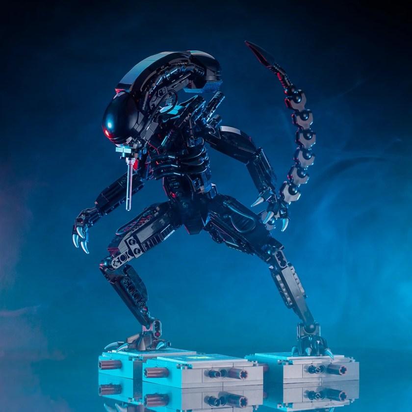 Custom LEGO Aliens Xenomorph