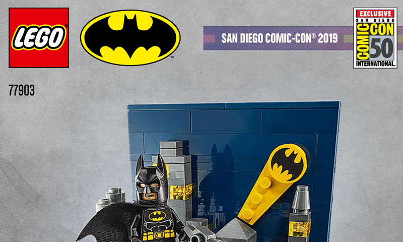 Building Instructions for LEGO SDCC 2019 Exclusive Sets Now Available