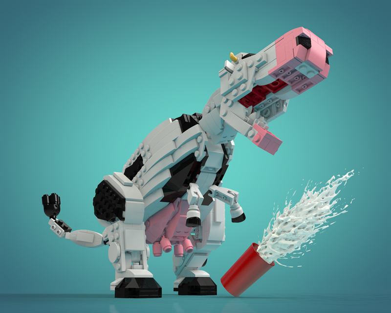 Check Out These Winning Brick-Built Hybrid Dinosaurs From LEGO Ideas