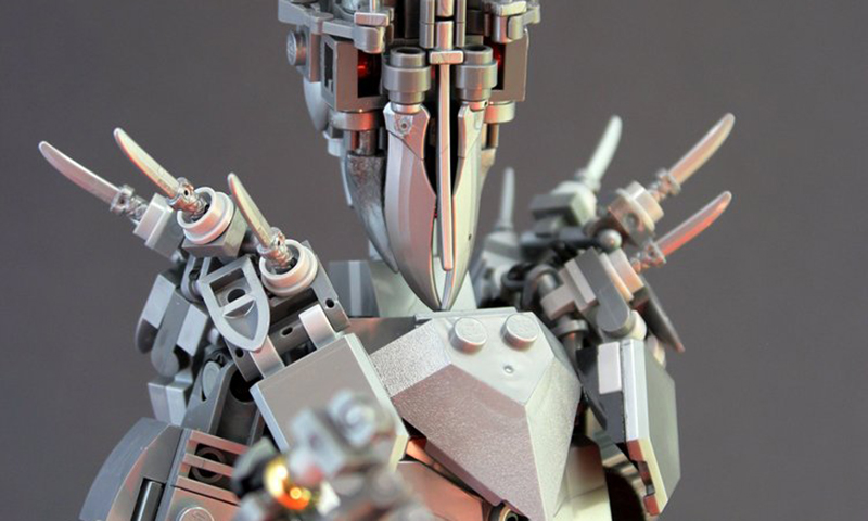 This Custom LEGO Sauron Bids For You To Submit… and Get Its Free Building Instructions!