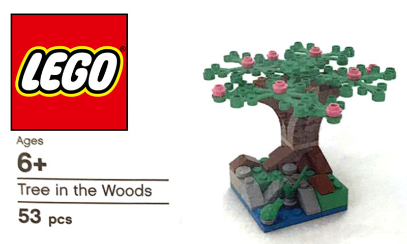 Make Your Own LEGO Tree In The Woods With These Building Instructions
