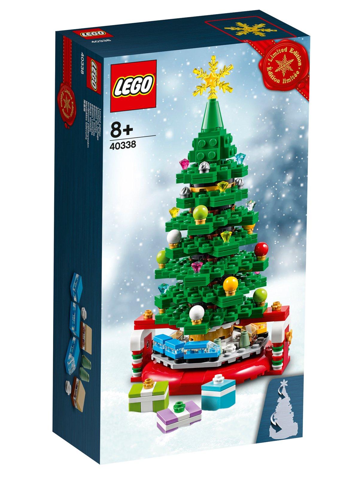 Lego Christmas Promotion 2020 2019 LEGO Christmas Tree (40338) Gift With Purchase Set Revealed