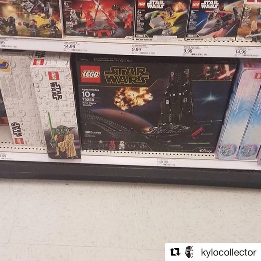 LEGO Star Wars The Rise of Skywalker sets
