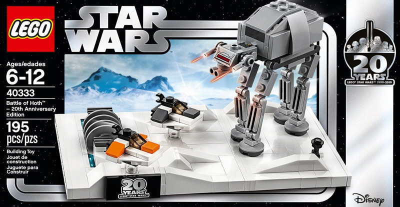 LEGO Star Wars Battle of Hoth – 20th Anniversary Edition (40333) Promo Back in LEGO Shop@Home in Europe