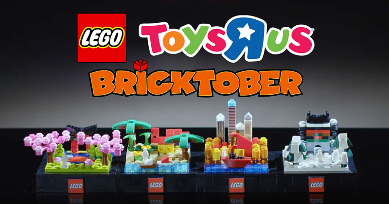 A Look at LEGO Toys R Us Bricktober Promos in Asia