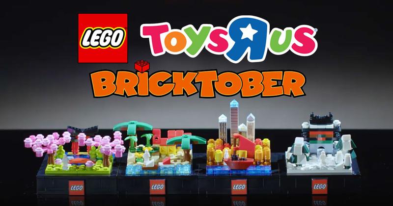 LEGO Toys R Us Bricktober