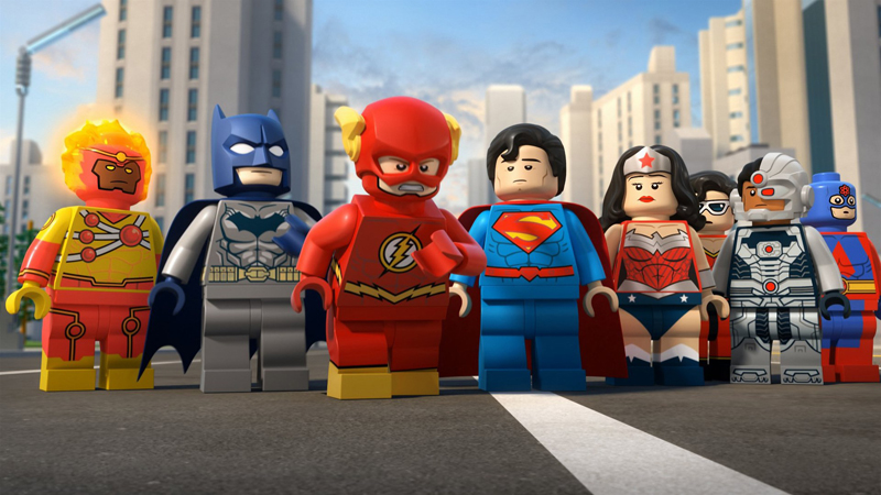 Dc Comics superheroes Flash Fits lego minifigure Justice League