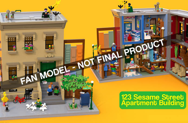 Finally, A LEGO Ideas Set That Will Show Us How To Get To Sesame Street