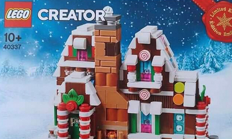 Limited Edition LEGO Mini Gingerbread House (40337) Arriving This Christmas Season