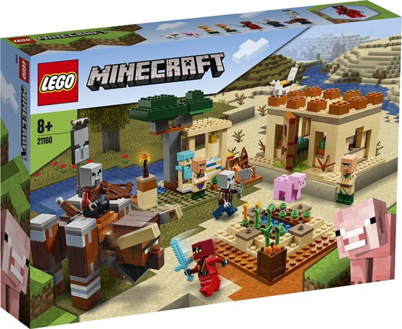 First Images of LEGO Minecraft 2020 Sets Surface