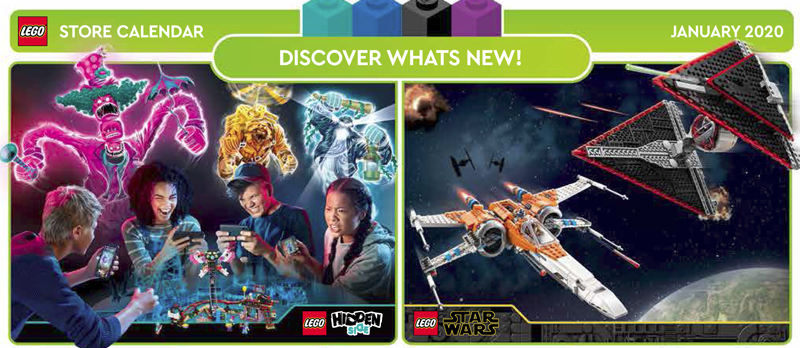 January 2020 LEGO Store Calendar Now Up And Loaded With Promos To Start The Year Right