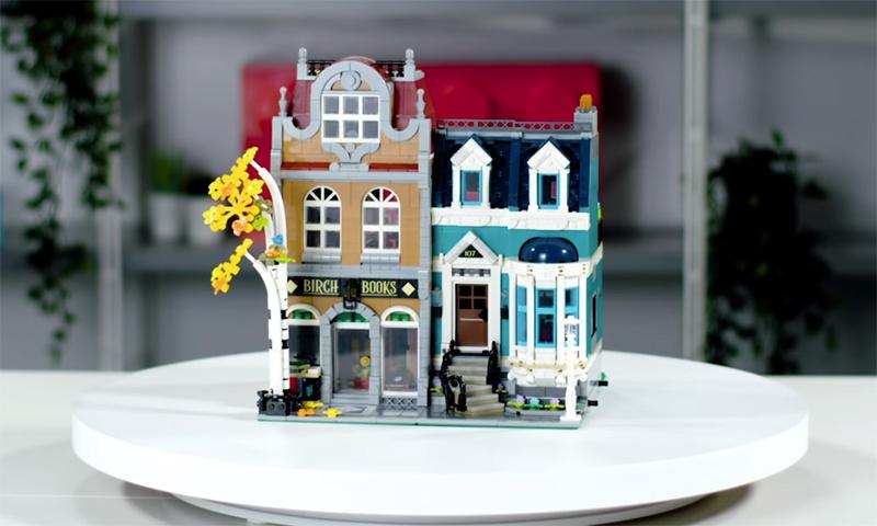 WATCH: LEGO Creator Expert Bookshop (10270) Designer Video