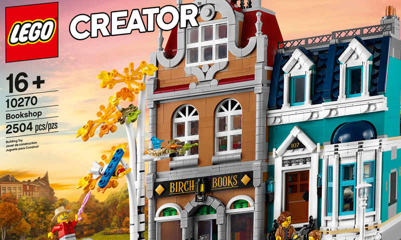 LEGO Creator Expert Bookshop (10270) Officially Revealed