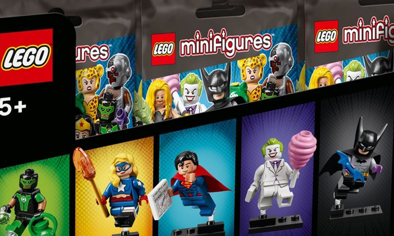 LEGO DC Super Heroes Collectible Minifigures (71026) Box Distribution Confirmed