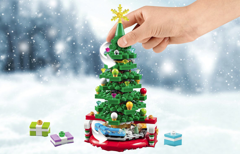 Create Your Own LEGO Christmas Tree (40338) With These Building Instructions