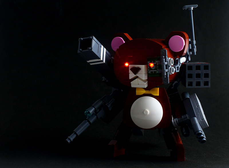 You Can Sleep Well With This Battle-Ready LEGO Teddy Bear MOC