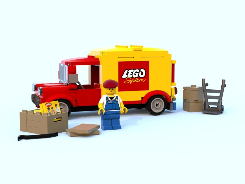 LEGO Ideas Vintage Car