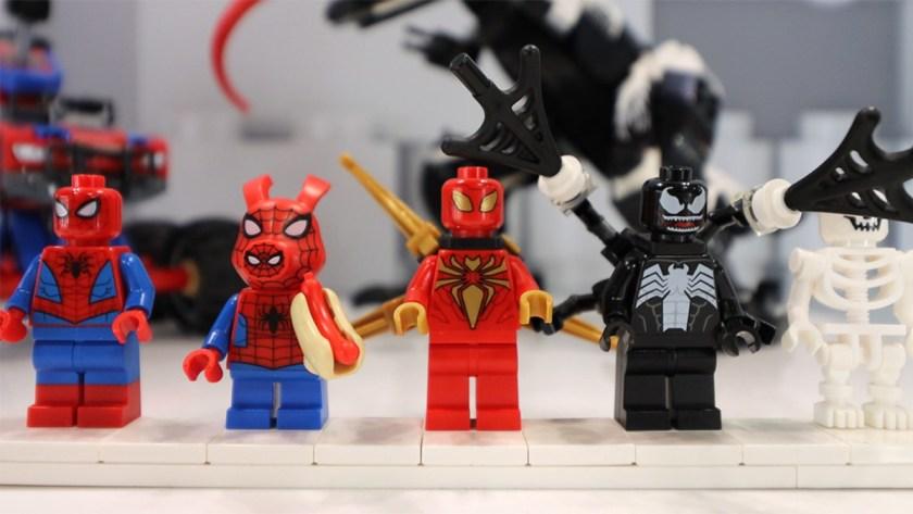 LEGO Marvel Spider-Man Venomosaurus Ambush
