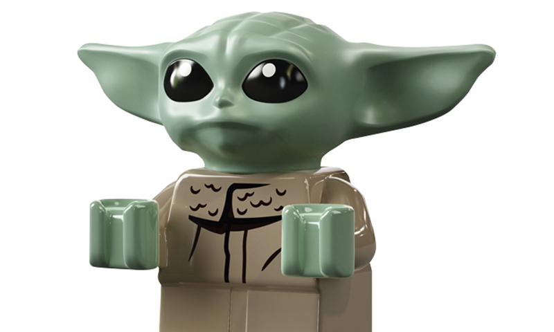 CUSTOM LEGO MANDALORIAN MINIFIGURES UK STAR WARS BABY YODA MINI FIGURES