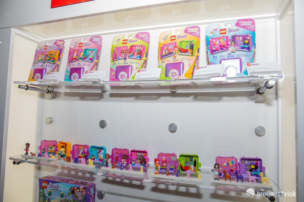 LEGO Friends Play Cubes Series 2 Showcased at NYTF 2020