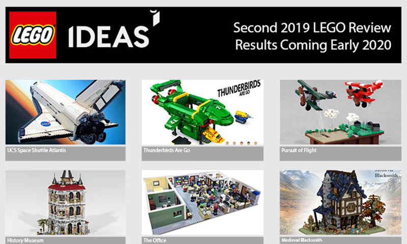 Second 2019 LEGO Ideas Review Results to be Announced On Wednesday