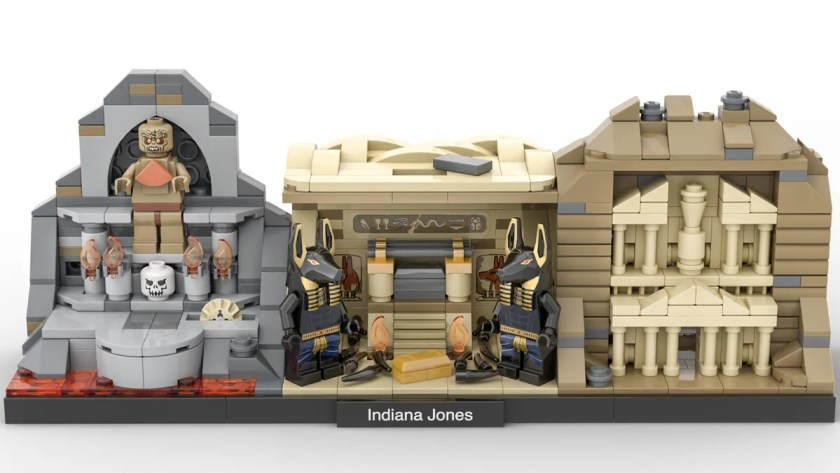 LEGO Ideas Indiana Jones Trilogy