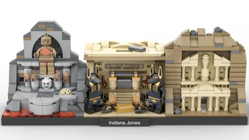 LEGO Ideas Indiana Jones Trilogy