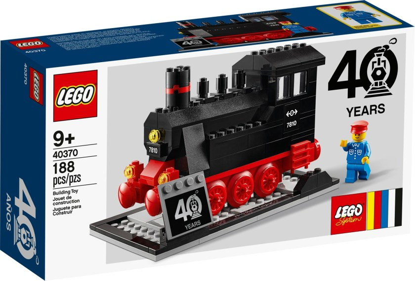 LEGO Trains 40th Anniversary (40370)