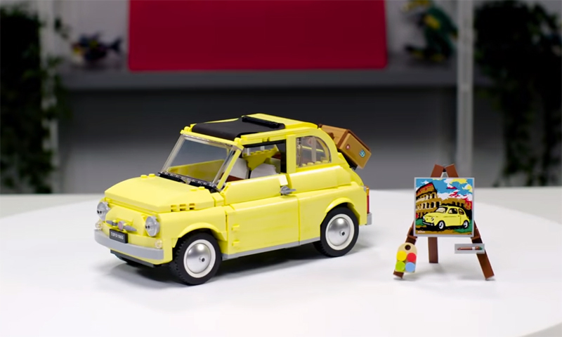 LEGO Creator Expert Fiat 500 (10271) Officially Revealed – Now Available at LEGO Shop@Home