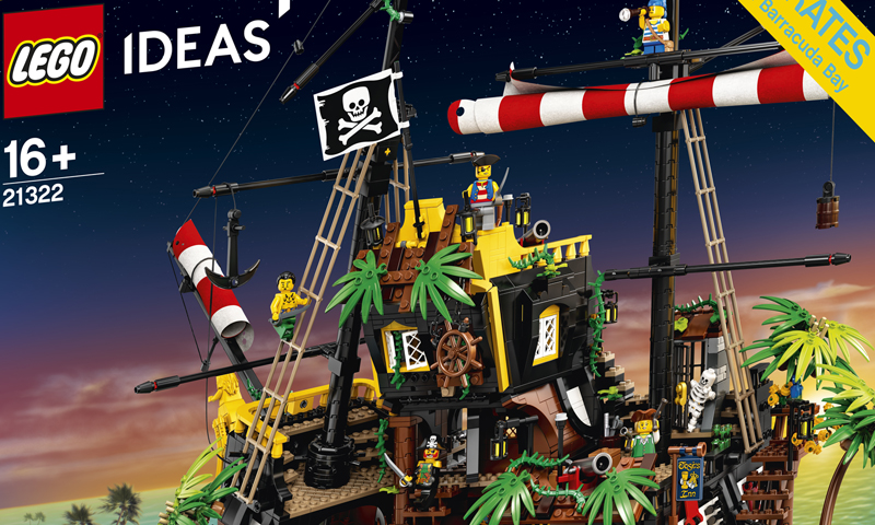 READ: LEGO Ideas Pirates of Barracuda Bay (21322) Official Press Release
