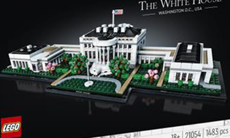 A First Look at the LEGO Architecture The White House (21054)